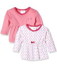 Twins Baby-Mädchen Langarmshirt im 2er Pack
