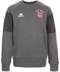 FC Bayern München Trainingssweat Kinder adidas Performance grau 128,140,176