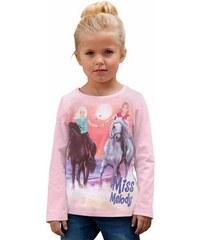 MISS MELODY Miss Melody Langarmshirt rosa 104/110,116/122,128/134,140/146,92/98