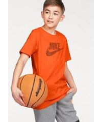 NIKE SPORTSWEAR Sportswear T-Shirt COTTON PLAY SKETCH YOUTH orange L (152/158),M (140/146),S (128/134),XL (164/170),XS (116/122)