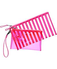 Set dvou kosmetických taštiček Victoria´s Secret pink
