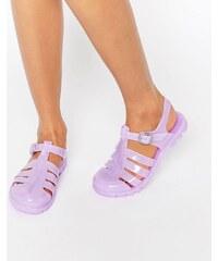 ASOS - FOR YOU - Sandales style spartiates en plastique souple - Violet