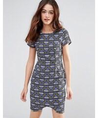 Sugarhill Boutique - Gemma - Robe droite à imprimé mosaïque - Multi