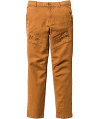 John Baner JEANSWEAR Pantalon Slim Fit avec poches zippées, T. 116-170 marron enfant - bonprix