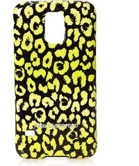 Karl Lagerfeld Coque pour Galaxy S5 - jaune