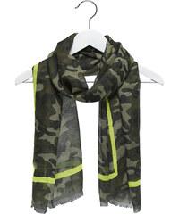 Eram foulard camouflage fluo