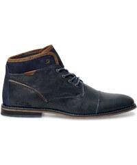 Eram Boots cuir bleu