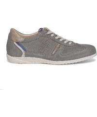 Tennis Fluchos cuir grise