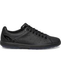 Tennis cuir noire TBS