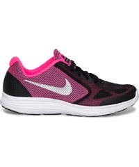 Basket Nike rose et noire fille
