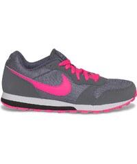 Basket Nike grise et rose fille