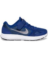 Basket Nike scratch bleue garçon