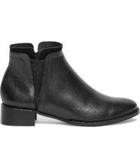 Eram Chelsea boots cuir noir