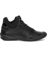 Basket TBS cuir noir