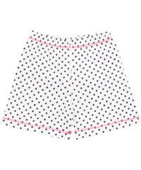 Nini Dívčí šortky puntíkovaný - bílé