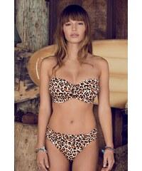 Luxusní dvoudílné plavky Freya Sabor s kosticemi leopard 75/C