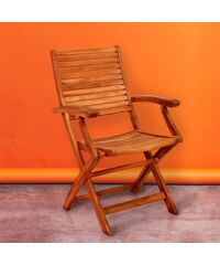 SOMERSET Skládací židle s područkami