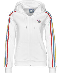 adidas Slim Fz W Hooded Zipper white