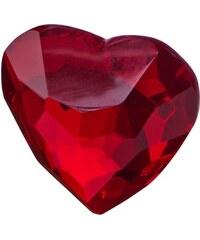 MONBIJOU Krystal ve tvaru srdce 50 mm