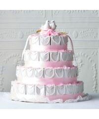 CONGRATULATIONS Svatební dort papírový