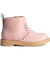 H&M Kotníkové boty se zipem