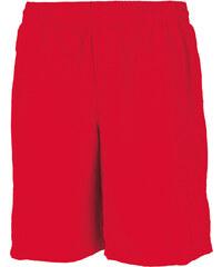 Pánské sportovní šortky - Červená XS