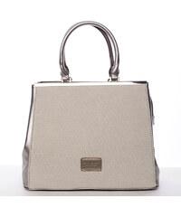Dámská luxusní kabelka zlatá - David Jones Verdiana zlatá