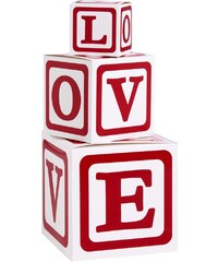 LOVE LETTERS Dárkové krabice 3ks