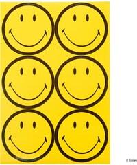 SMILEY Nálepky vel. 5,3 cm, 24 ks