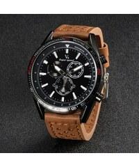 Pánské hodinky V6 speed Robust - hnědé