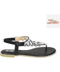 Lesara Sandales nu-pieds avec strass
