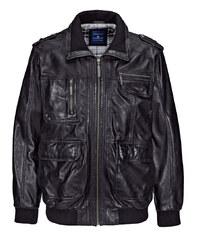 Kožená bunda BABISTA černá