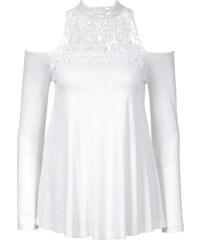 BODYFLIRT boutique Top blanc femme - bonprix