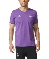 ADIDAS Tričko REAL MADRID 16 3-stripes purple