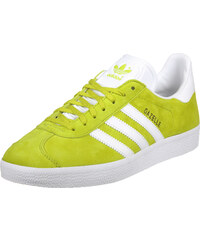 adidas Gazelle chaussures unity lime/white