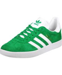 adidas Gazelle Schuhe green/white