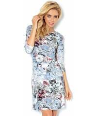 62a436bf3f59 numoco Dámské společenské šaty BLOSSOM s květovaným motivem krátké květované