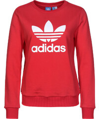 adidas Trefoil W Sweater vivid red