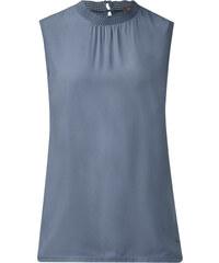 Street One Shirttop mit Rüsche Fylla - endless blue, Damen