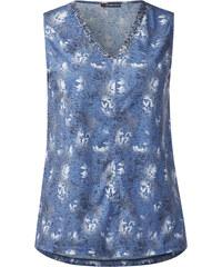 Street One - Débardeur floral Fleur - endless blue