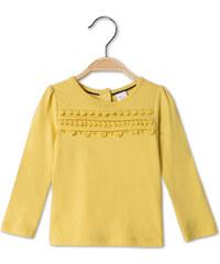C&A Baby-Langarmshirt aus Bio-Baumwolle in Gelb