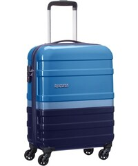Kabinový kufr American Tourister PASADENA SPINNER 55 FL - 29,5 l - modrý