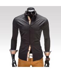 Ombre Clothing Košile Tyler černá