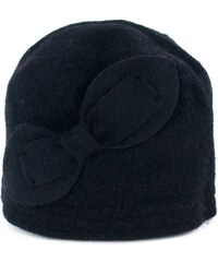 Art of Polo Vlněný klobouk s mašlí černý