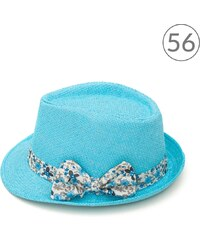 Art of Polo Dívčí trilby klobouk s mašlí tyrkysový