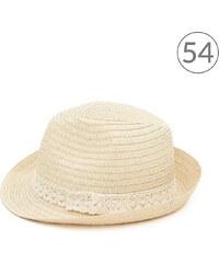 Art of Polo Trilby klobouk s krajkou světlý