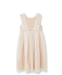 MANGO KIDS Kleid Mit Spitzeneinsätzen