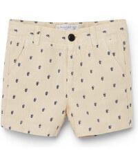 MANGO BABY Bermuda-Shorts Aus Segeltuch Mit Baumwolle