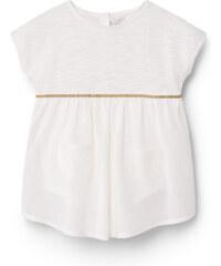 MANGO BABY Robe Chasuble Coton Ornement