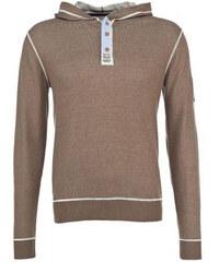Lesara Sweat-Pullover mit Kapuze - Grün - XL